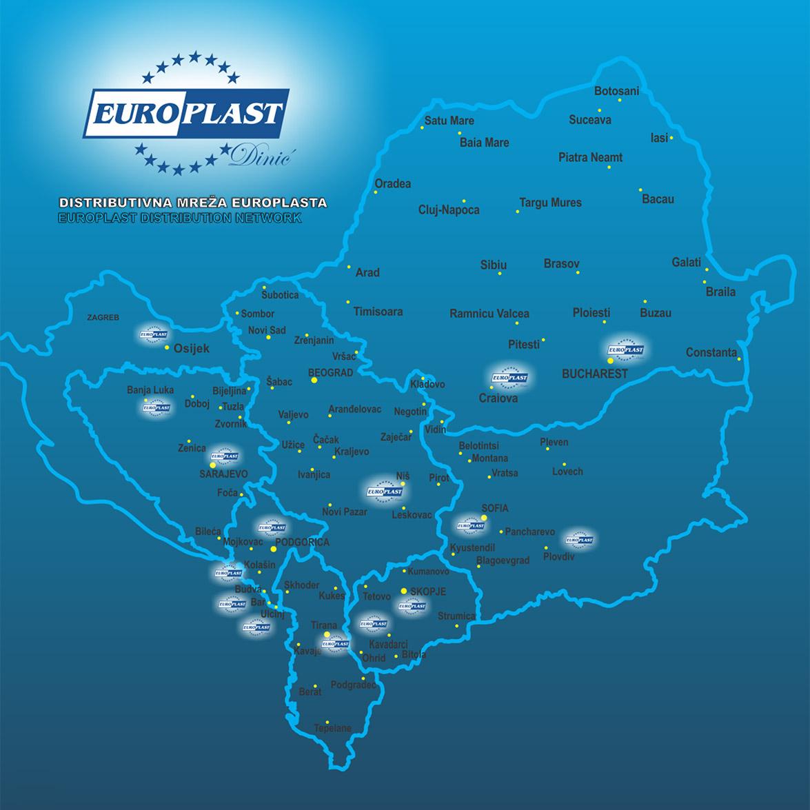 Europlast distributivna mreža